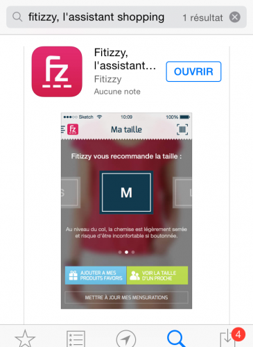 Application Fitizzy