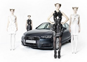 Dresses for Audi A4, printed Dresses