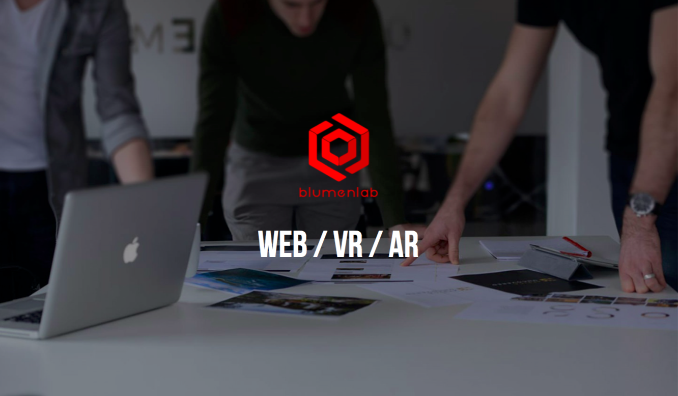 Web VR web marketing